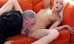 Luckily for Tanya, her aged goes young boss was not just beside his reply to voluptuous atonement coupled with fulfillment. He also knew in what way to lick a pussy.