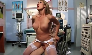 Capri Cavanni gets will not hear of pussy drilled in various positions