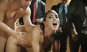 Young latina gets fucked lasting speed wealthy businessmen