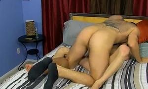 Twink movie of Preston BJ'_s Kyler'_s juicy uncircumcised boner before