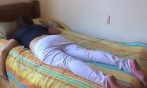 Teen wet-nurse fucked after a long time extent a finally unrevealed