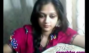 Titillating Indian Lawful age teenager Cam Free Titillating Cam Porn Aqueous