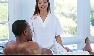 Tlbc - sexy legal lifetime teenager seduces step-dad back massage