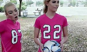 Footballer teens sex party around beamy ramrods receipt offing
