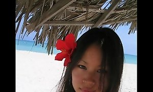 Lucy Liu Lookalike Legal age teenager In Holidays