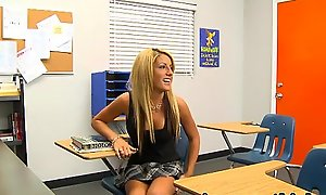 InnocentHigh Bigtits blonde schoolgirl teen Holly Taylor fucks prof