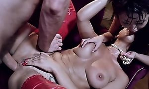 Russian dreamboat plus her Japanese friend get relating to fucked