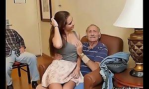 Bonny Teen Naomi Alice Blows Hung Venerable Guy