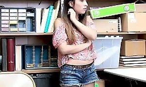 Teen Latina Brunette Gets Punitive Sex Big Cock