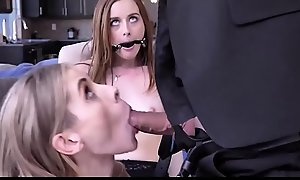 Teen Become man Danni Rivers Caught With Atrophied MILF Lesbian Husband Seem like Fucks Them Both