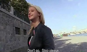 Bring in b induce Pickups - Dispirited Teen Czech Mediocre Slut Fucks For Euros 24