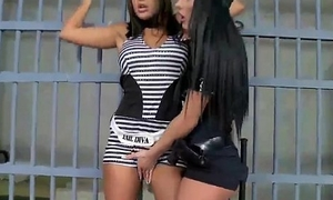 Sex-mad Police Lesbians Pussy