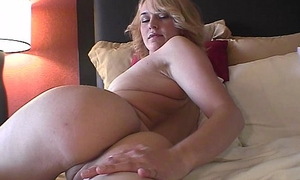 hot fair-haired with braces and puffy nipples being naked on camera