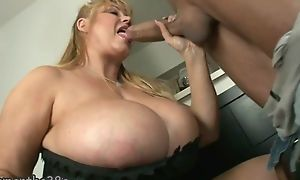 Broad in the beam mature with easy on the eyes huge special gets fucked well