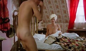 Very exact vintage XXX movie in all directions comely ladies