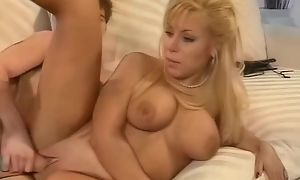 Tanned grown-up gets her cock zeal fuck holes drilled