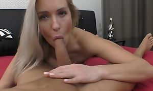 Passionate European babe give natural breasts gets nicely fucked