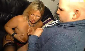 Amateur German mammy with natural soul gets fucked balls deep