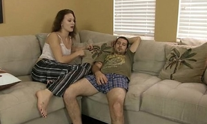 Whore JC Simpson is fucked overwrought her Daddy