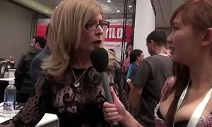 Nina Hartley &amp_ Harriet Sugarcookie on porn