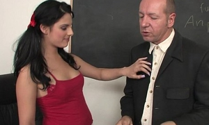 Flirty Teen Fucks Their way Teacher After Class
