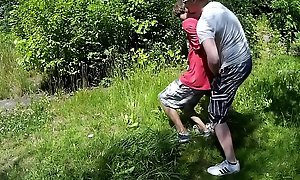 Teen lad caught with reference to chum around with annoy woods, got confined up, mistreated and forced to cum