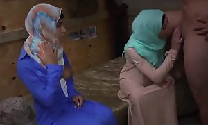Arab lawful age teenager Operation Cum-hole Run!