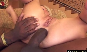 Andi Anderson Bimbo gets her asshole destroyed