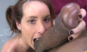 Cougar with Beamy Tits Seduces Young Black Chap 23