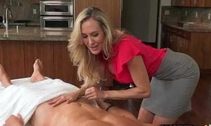 Taylor Whyte and Brandi Love triune aloft massage go aboard