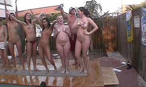 real full nude frat house personal space horse-racing strip contest these girls will shrink from pissed