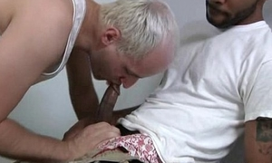 BlacksOnBoys - Gay blacks fuck hard white sexy twinks 07
