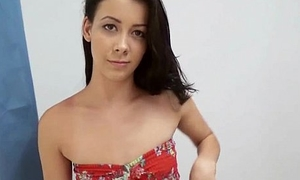 Hottie amateur widely applicable rides her man'_s cock 4
