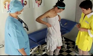 Academy babe examined by doctors