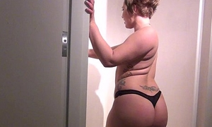 sexy college amateur naked shower in their way student apartment