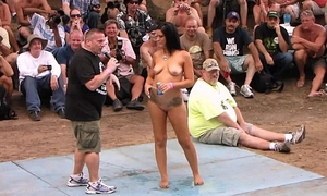 strippers competing be proper of miss nude north america endowment