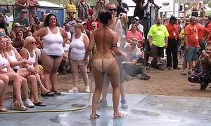 amateur nude hand-to-hand encounter to hand this years nudes a poppin festival in indiana