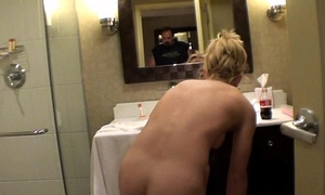 blonde escort naked shower command about illinois hotel range