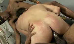 Blacks On Boys - Interracial hardcore gay motion pictures 13