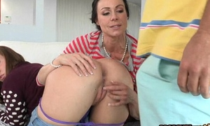 Maddy Oreilly and Kendra Lust name brand teaming one accidental cock