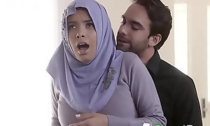 Shy Well-endowed Arab Teen Aaliyah Hadid Ass-Fucked Helter-skelter Their way Hijab