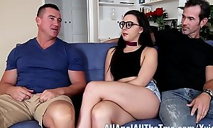 Teen Whitney Wright Makes BF Watch Her Realize Ass Fucked AllAnal!