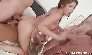 Renata Fox first time Double Anal with multiple positions, DP, Drool Abyss Anal, Great Gapes