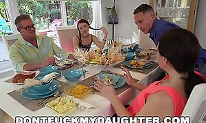 DON'_T Lady-love MY DAUGHTER - Lucie Kline Takes Anal On Thanksgiving Exotic Her Dad'_s Friend