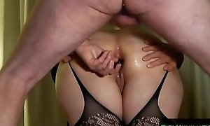 Guestimated Double Anal Fuck Wife
