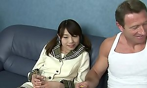 IBUKI has a firm anal carnal knowledge with the French teacher