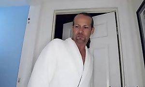 Alexa Novas anal drilled by step dad check into blowjob