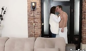 Sexy and young Emily Thorne anal sex